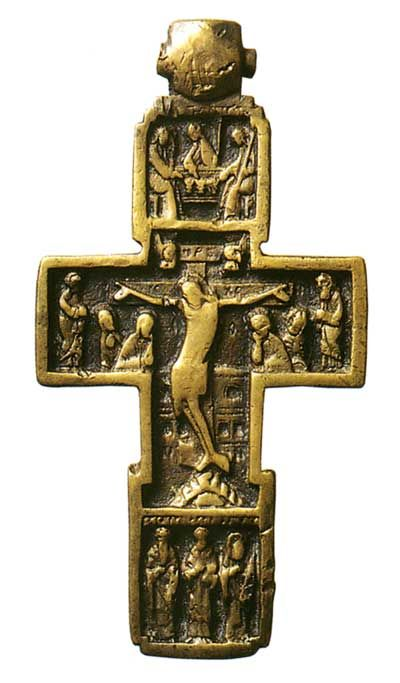 Крест «Распятие Христово». 16в