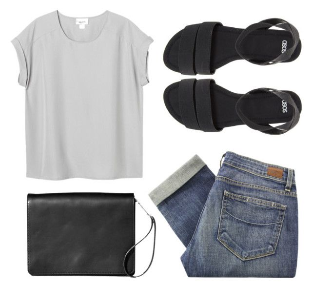 Heard it on the radio by louisesuxx on Polyvore featuring Monki, Paige Denim, ASOS and Maison Margiela