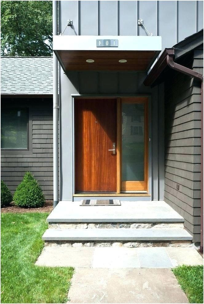 43 Stunning Walkway Ideas For Front Of House Ideas Walkwayideas Front Door Canopy Modern Front Door House Front