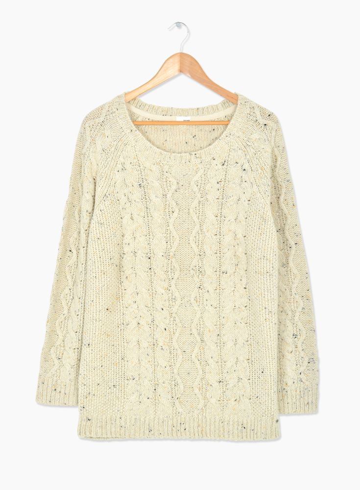 Cable Knit Sweater #hotforholiday