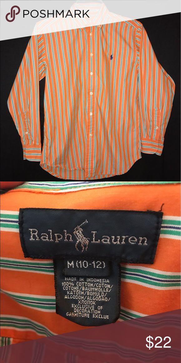 Boys Ralph Laurn shirt M (10-12) Boys Ralph Laurn shirt size M (10-12) Ralph Lauren Shirts & Tops Button Down Shirts