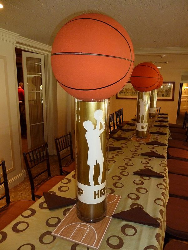 17 best images about basketball party ideas on pinterest for Basketball craft party ideas