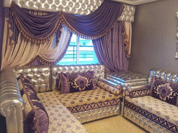 moroccan salon beautifully decoratedwwwasilahventurescom - Salon Marocain Moderne Enbelgique