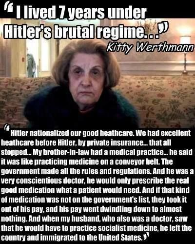 Kitty Werthmann quote.....could we learn a thing or two from history????
