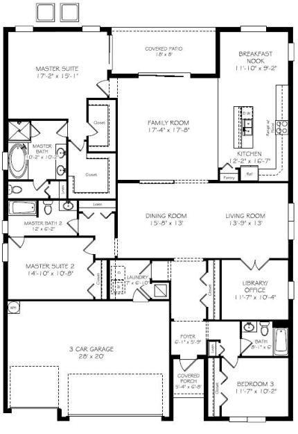 Laurel New Home Plan in Treviso Bay  Classic Homes. 142 best Dream Floor Plans images on Pinterest