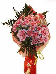 Envio ramo de claveles de nuestra floristeria on line Graficflower