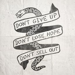 Don't Give Up By Joshua Redmond