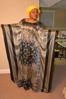 SewFit: Silk Fabric-  Caftan