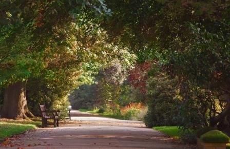 Jephson Gardens, Leamington Spa UK