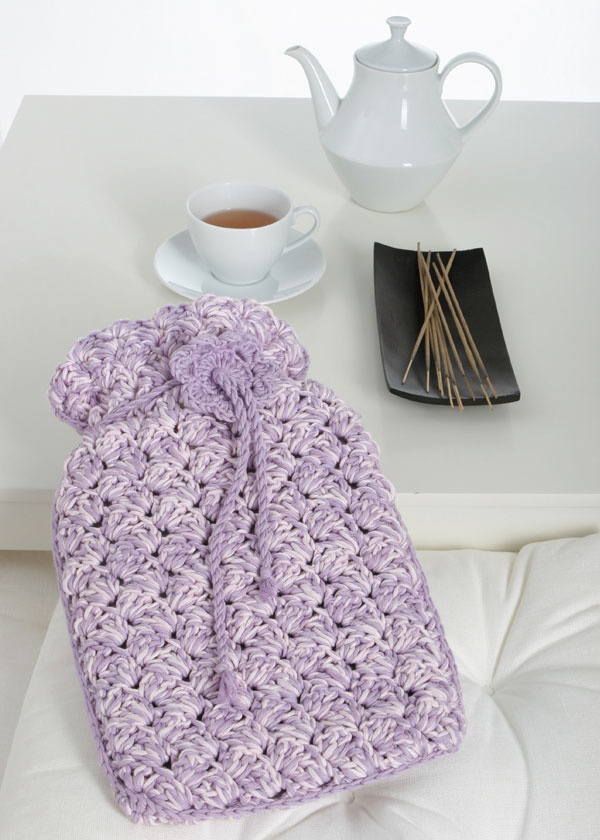 19 best images about Crochet hot water bottle cover on ...