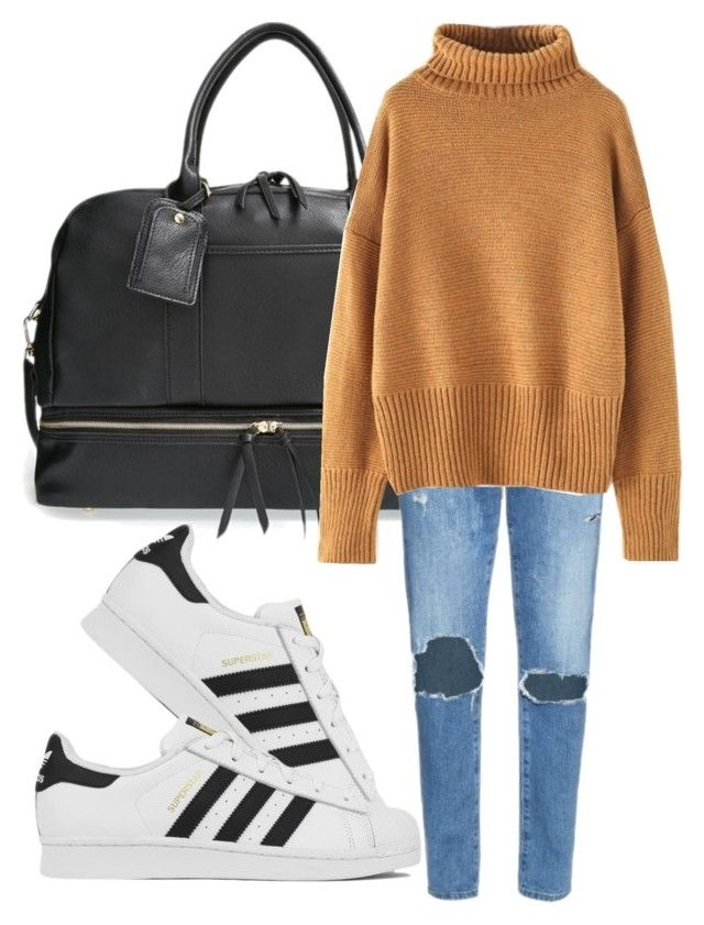 Untitled #40 by danifrancis on Polyvore featuring polyvore, fashion, style, AG Adriano Goldschmied, adidas, Sole Society and clothing