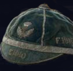 Rugby History : today 22/01 in 1910   Scotland 27-0 France   The Watsonians club provided Scotland's entire threequarter line for their 27-0 win in Scotland's first match against France at Inverleith. Halfback James Tennent was the pick of Scotland's backline though, with a hat-trick of tries (an original SRU Cap from 1910 is above).