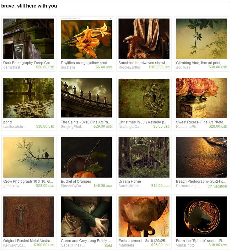 Brave - 'Still Here With You' - Etsy treasury for Ellen by Gwen Dombrosky from thoughtlandsstudio on Etsy