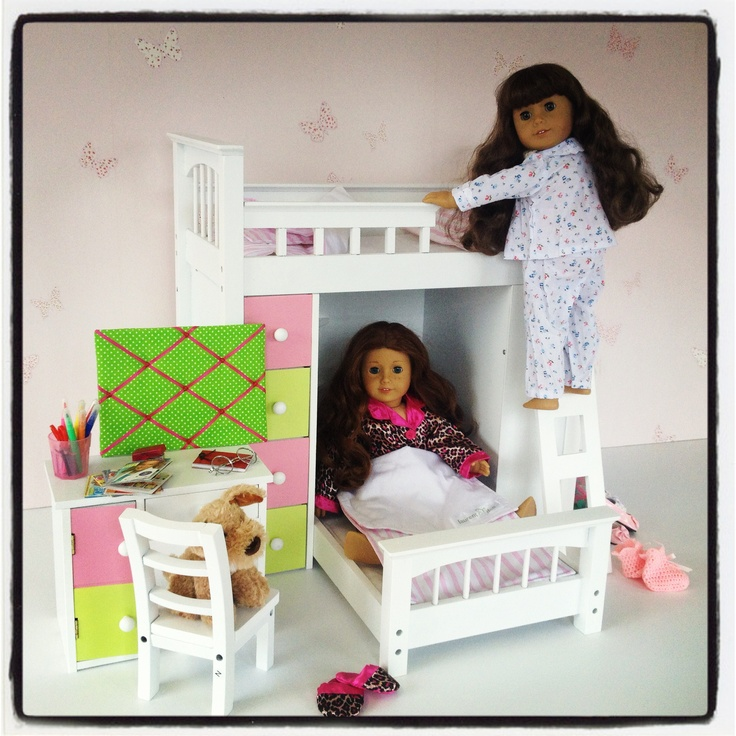 38 Best Images About 18 Inch Doll Bed On Pinterest
