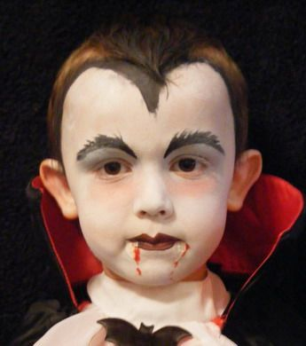 large vampire more halloween face paintingshalloween ideashalloween - Halloween Easy Face Painting