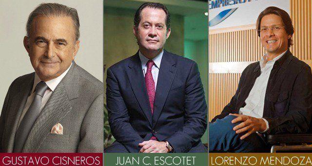 Los tres Empresarios más ricos de Venezuela. ¿Quiénes son