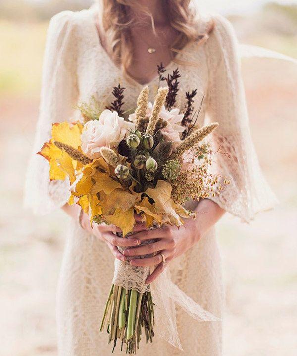 Ramos de novia de otoño | ELLE