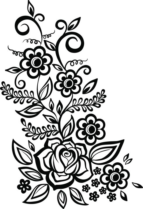 Plantillas de tatuajes de enredaderas tatuajes de henna pinterest - Dibujos tribales para tatuar ...