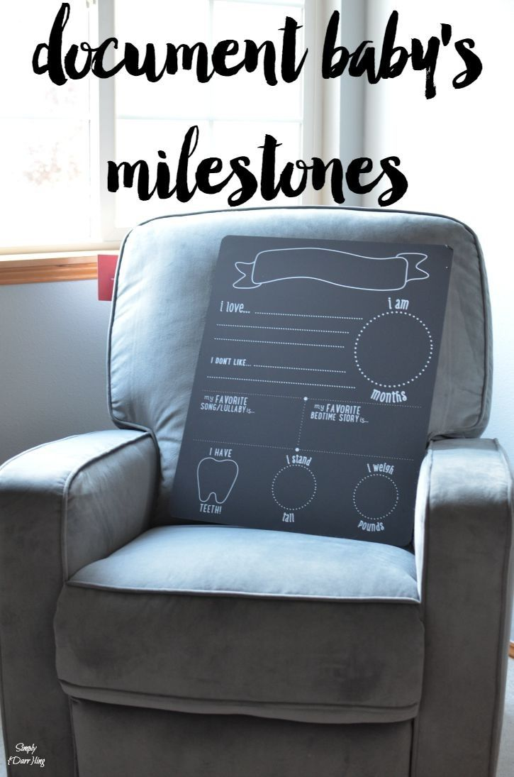 Document Baby's Milestones - we are soooo close to being in the #adoption pool! I can't wait to use this adorable chalkboard from @pearheadinc to document each month's milestones.