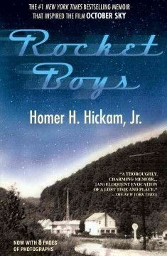 """An amazing story of a group of young men who dreamed of launching rockets into outer space . . . and who made those dreams come true."" The movie ""October Sky"" was based on this memoir.  Place a hold on this title by clicking on the book cover image.--Tara"