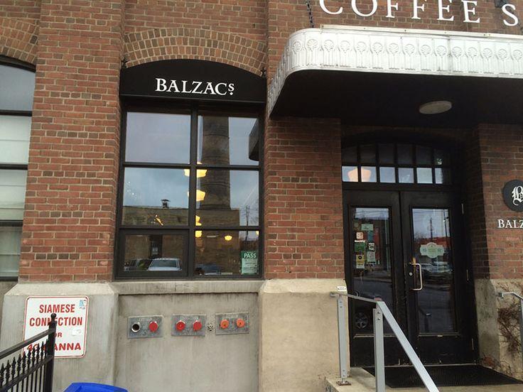 Balzac Coffee Shop Awning