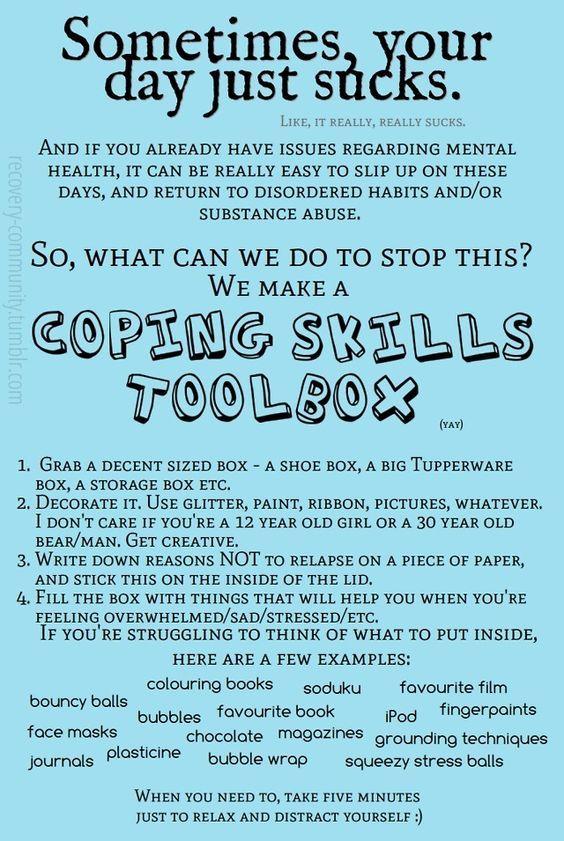 Coping skills: