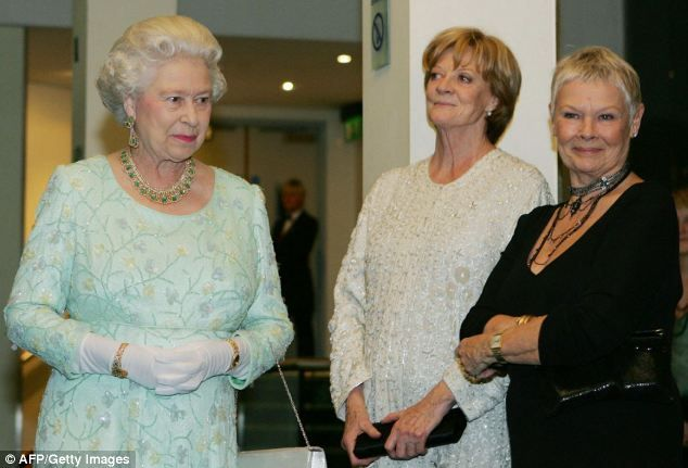 She spends her time on TV hobnobbing with the great and good as the Dowager Countess of Downton Abbey.  Now in real life, Dame Maggie Smith is to be made a Companion of Honour by the Queen, according to reports last night.  The Sun reported the veteran actress, 79, is due to receive the gong in the Queen's Birthday Honours' List, which is published tomorrow.
