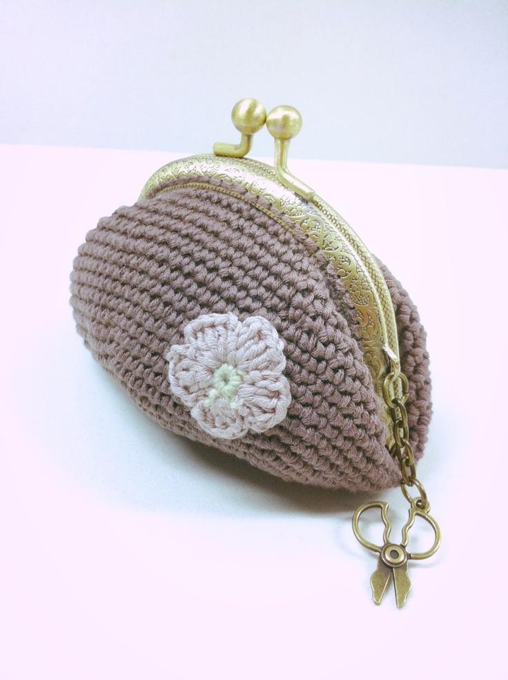 220 mejores im genes sobre monederos de crochet en for Monedero ganchillo boquilla ovalada