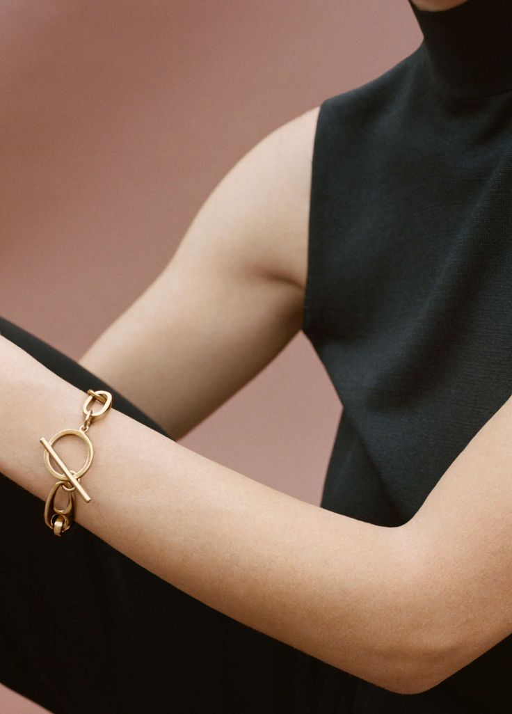 Classic chain bracelet - gold | Simon James Design