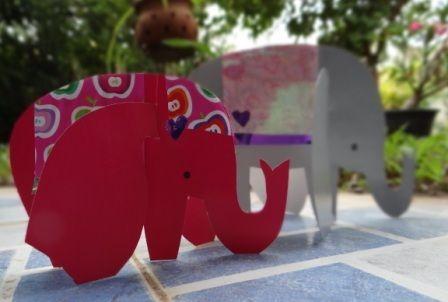 Объемная поделка из бумаги - Слон своими руками (2)
