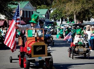 Come join us for the Pinehurst St. Patrick's Day Parade!Colorful parade entries, music, dancing and Irish Good Cheer await you at the Village of Pinehurst St. Patrick's Day Parade. The parade begins Saturday at 11:00 AM.