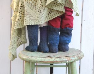Pipo&mitten villasukat ~ woolly socks