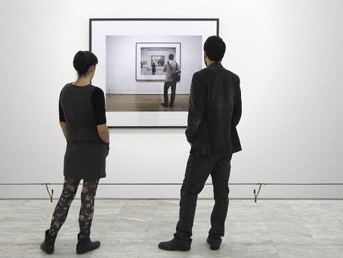 """Tint Gallery :: Past exhibitions (Georgia Kotretsos, Artemis Potamianou, G. Kotretsos, """"Being-seen-by-another is the truth of seeing the other, No.2 National Museum of Contemporary Art, Athens"""")"""