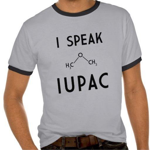 Yo hablo IUPAC