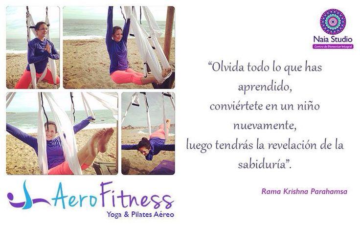 AeroFitness Yoga y Pilates Aéreo. Clases regulares en Ñuñoa.