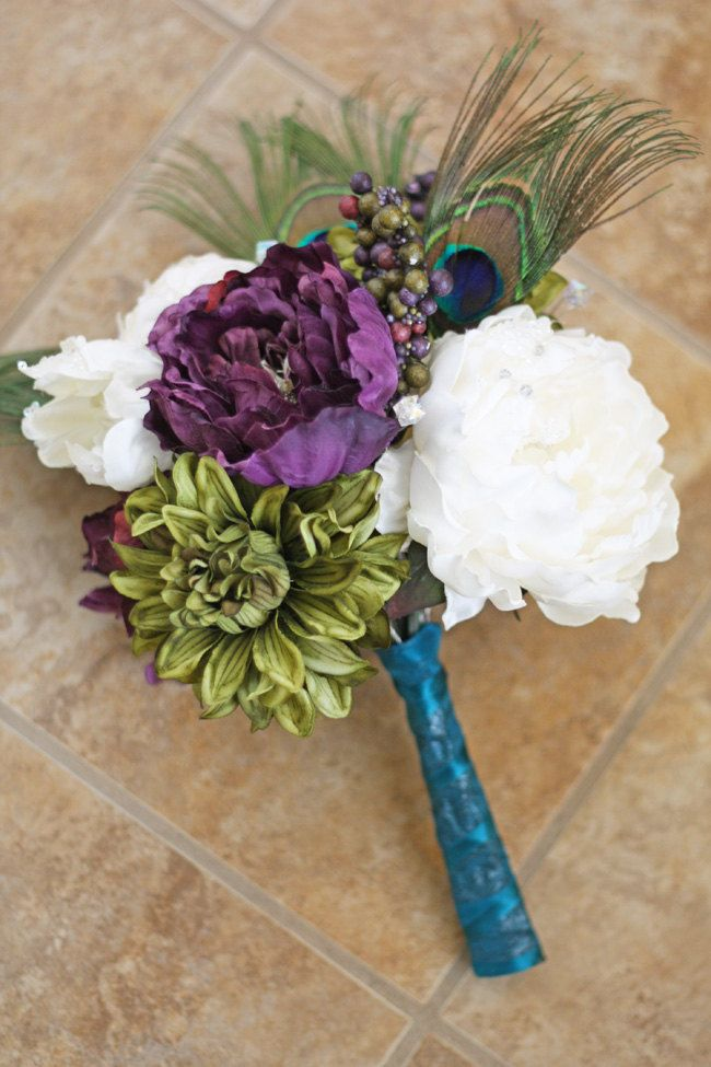 bridal peacocks bouquets peacocks wedding bouquets bouquets small