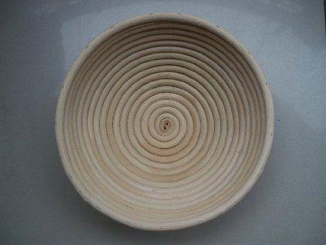 MASTERPROOFING® Round Banneton Basket (500g dough)-- 22*8.5cm