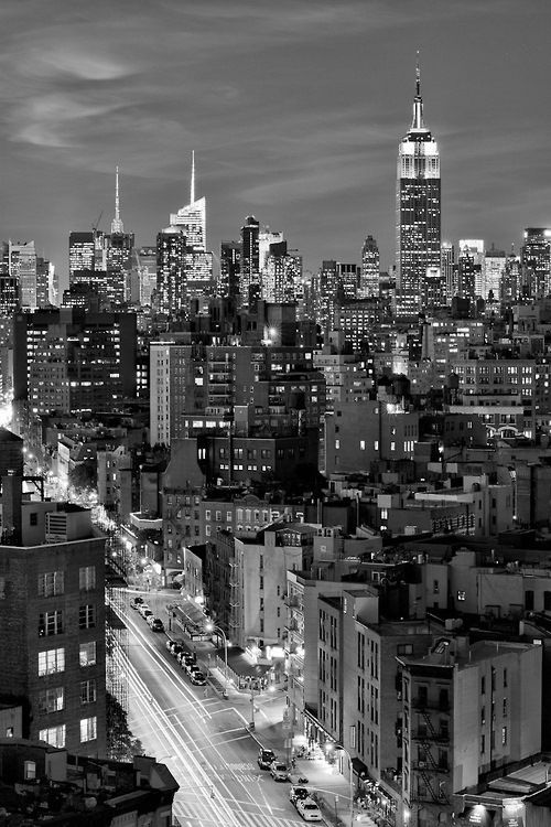 new york dressed in black and white by newyorkblackwhite