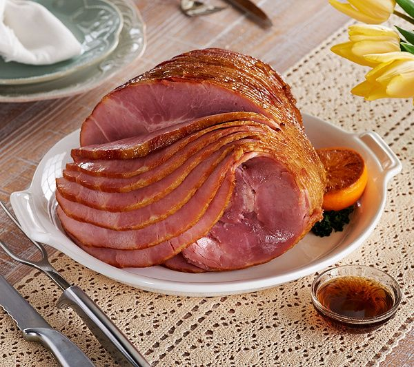 Kansas City Steak Company brings the flavor to your next feast. This large spiral bone-in ham will headline your menu and feed the whole family. QVC.com
