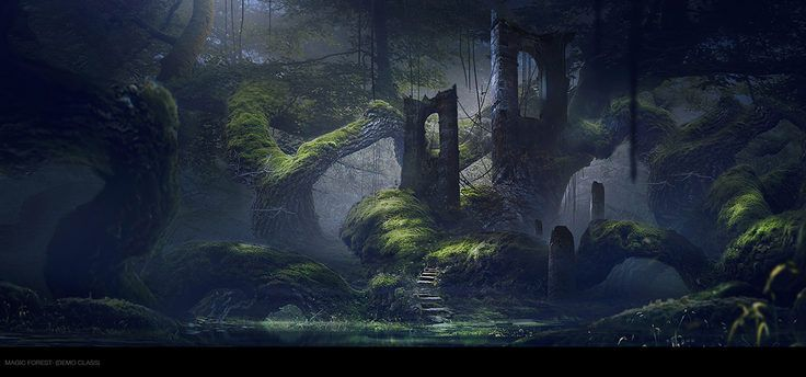 Ruins Forest by Roldan