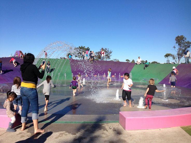 Blaxland Riverside Park, Sydney Water Parks, Water Play Parks