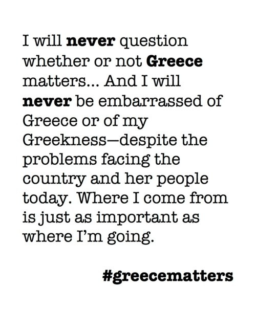 #greecematters