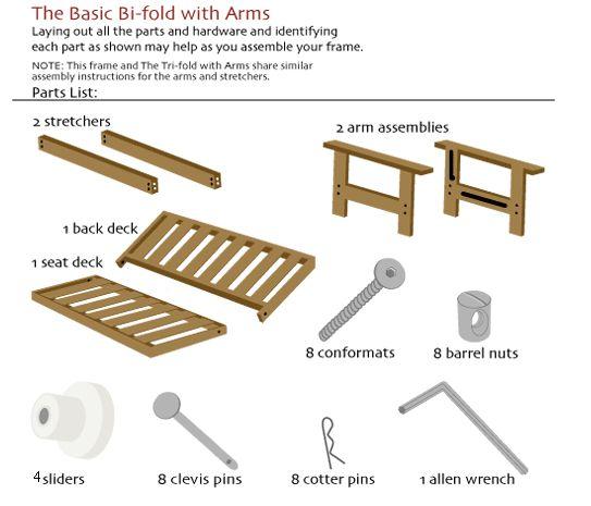 Basic bi fold futon assembly diy pinterest futons - The basics about futons ...