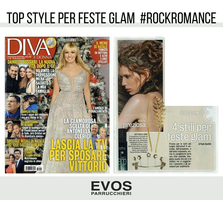 Il tuo #look delle feste ha un tocco #rock #chic da @EVOS_italia! Cerca il salone più vicino e scopri le proposte *#Rockromance* per sfoggiare uno stile unico ed esclusivo!