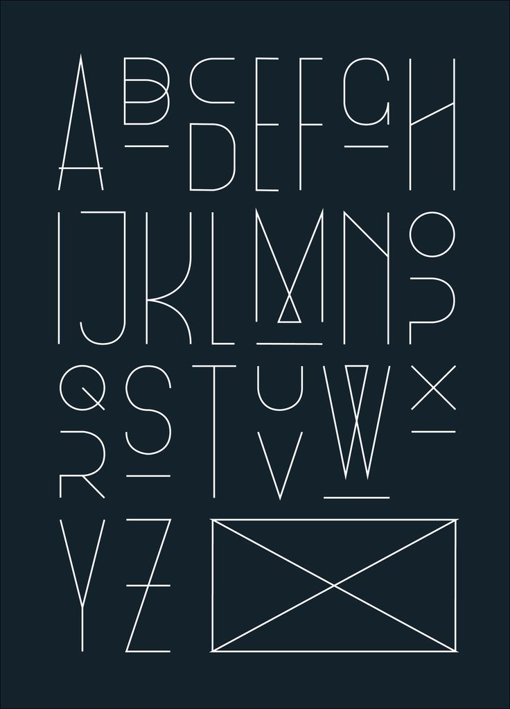 17 Best Different Types Of Letters Images On Pinterest