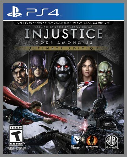 Injustice: Gods Among Us (Ultimate Edition) – PlayStation 4 – Videos, reviews, interviews, screenshots & more