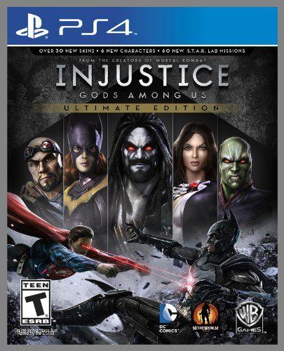 Injustice: Gods Among Us (Ultimate Edition) – PlayStation 4 – Videos, reviews, interviews, screenshots & more