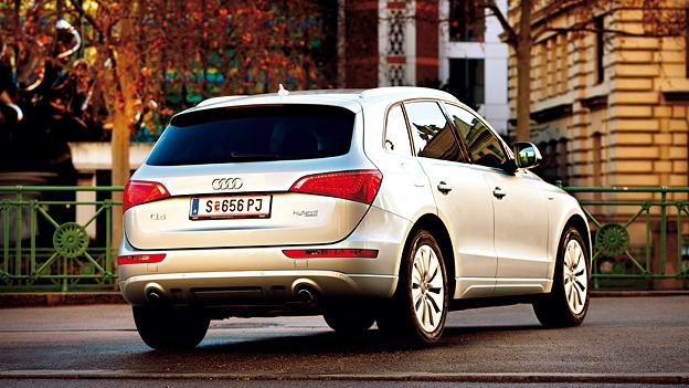 Audi Q5 hybrid. http://www.autorevue.at/best_of_test/fahrberichte/audi-q5-hybrid-quattro-test.html