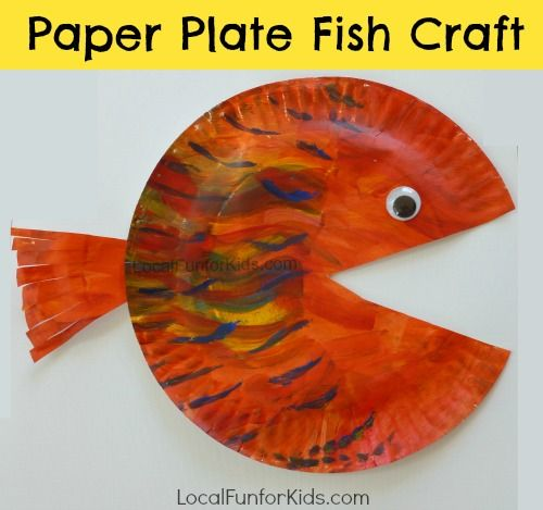 Paper Plate Fish Craft forKids - Home - Philly Mom Blogger, Best Local Blogs, Easy Crafts, Activities