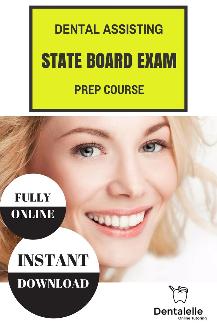 Dental Assistant course guide